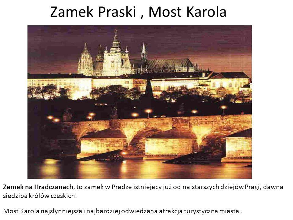 Zamek Praski , Most Karola