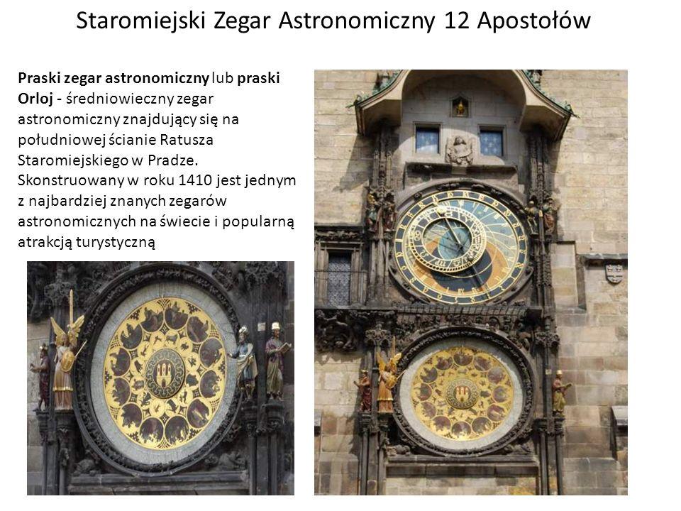 Staromiejski Zegar Astronomiczny 12 Apostołów