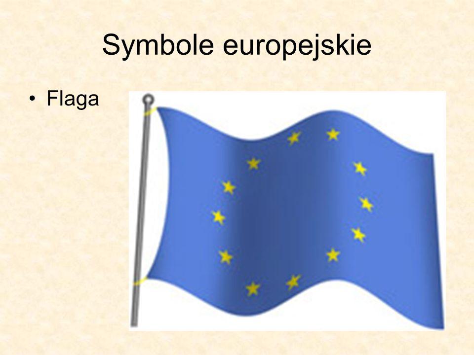 Symbole europejskie Flaga