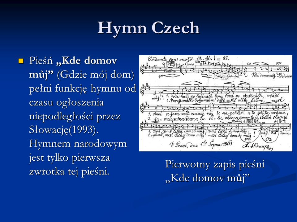 Hymn Czech