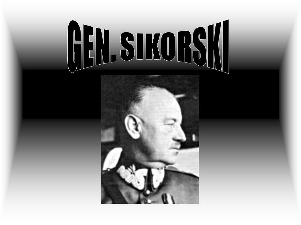 GEN. SIKORSKI