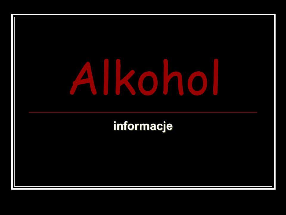 Alkohol informacje