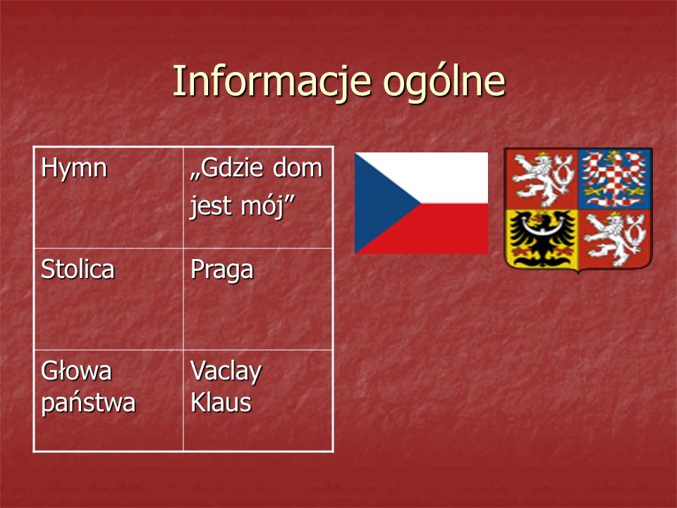 """Informacje ogólne Hymn """"Gdzie dom jest mój Stolica Praga"""