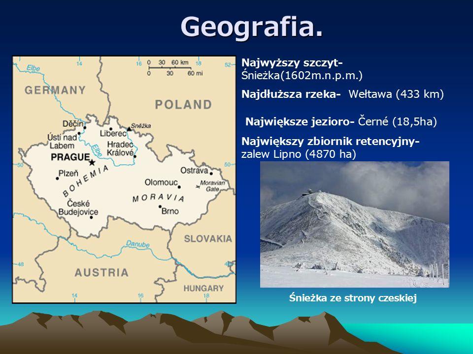 Śnieżka ze strony czeskiej