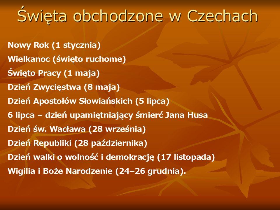 Święta obchodzone w Czechach