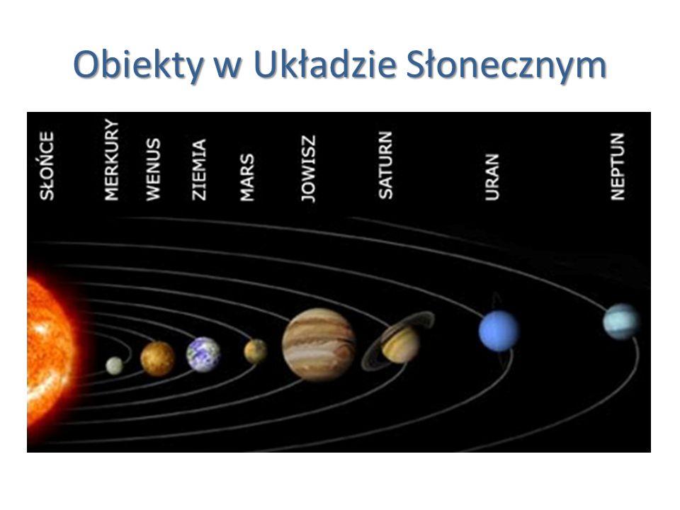 Obiekty w Układzie Słonecznym