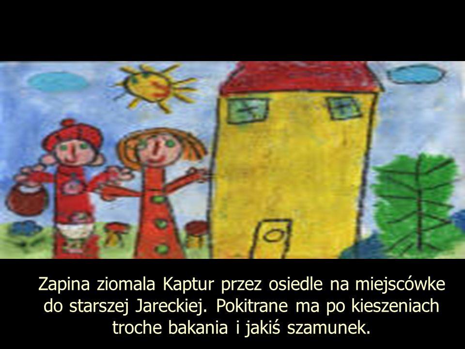 Zapina ziomala Kaptur przez osiedle na miejscówke do starszej Jareckiej.