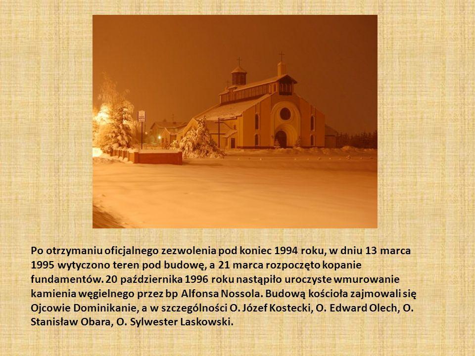 Po otrzymaniu oficjalnego zezwolenia pod koniec 1994 roku, w dniu 13 marca 1995 wytyczono teren pod budowę, a 21 marca rozpoczęto kopanie fundamentów.