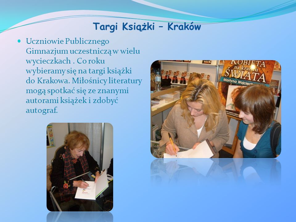 Targi Książki – Kraków