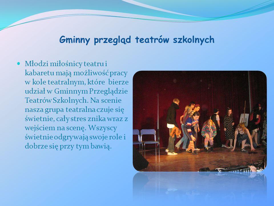 Gminny przegląd teatrów szkolnych