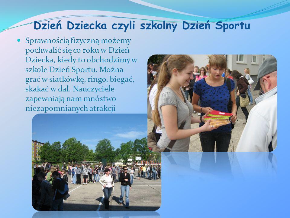 Dzień Dziecka czyli szkolny Dzień Sportu