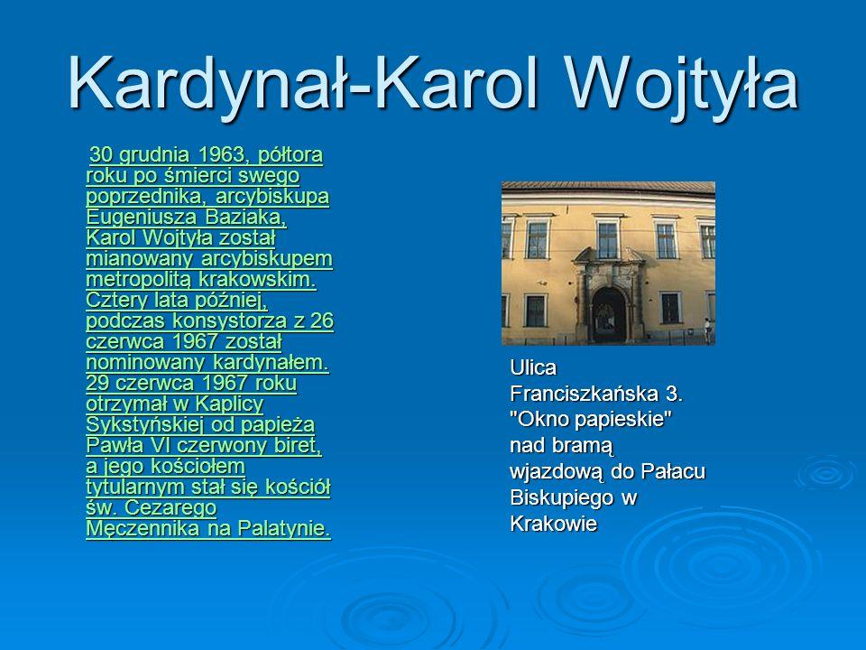 Kardynał-Karol Wojtyła