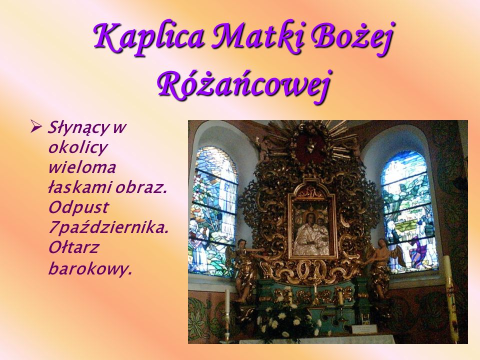 Kaplica Matki Bożej Różańcowej