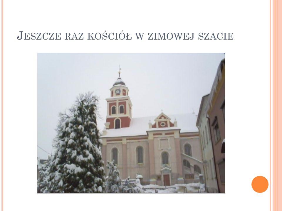 Jeszcze raz kościół w zimowej szacie