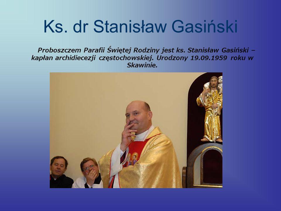 Ks. dr Stanisław Gasiński