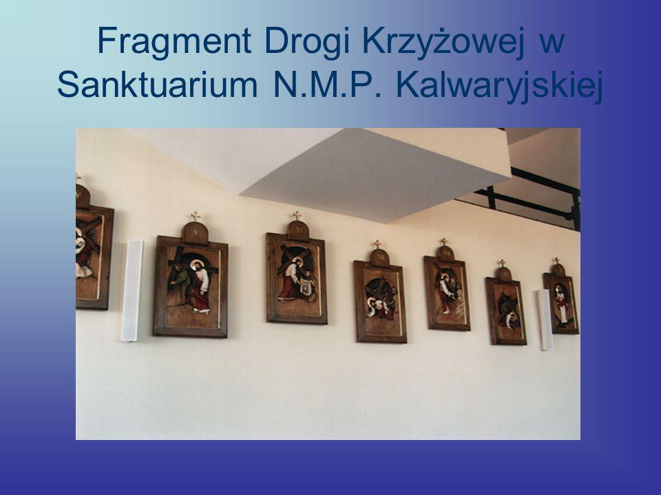 Fragment Drogi Krzyżowej w Sanktuarium N.M.P. Kalwaryjskiej
