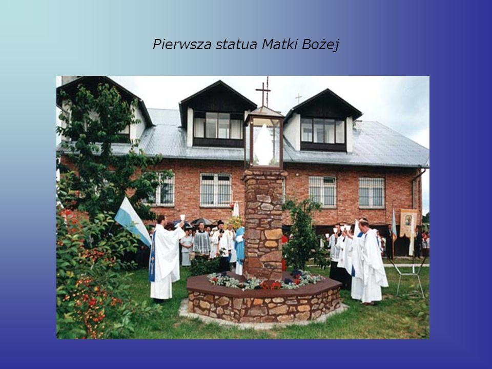 Pierwsza statua Matki Bożej