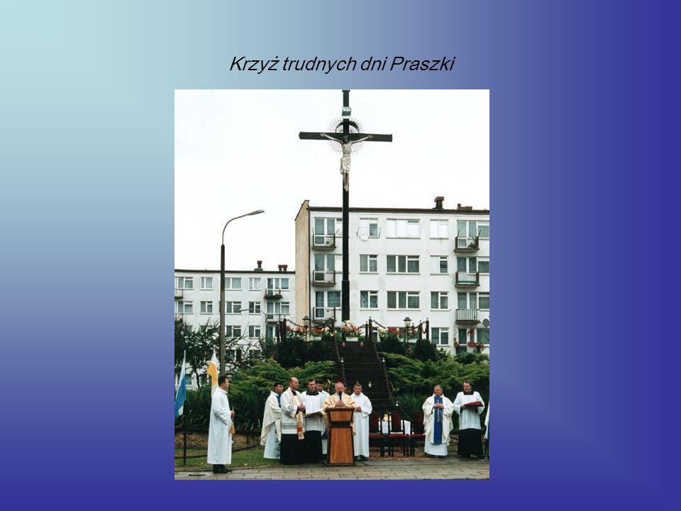Krzyż trudnych dni Praszki