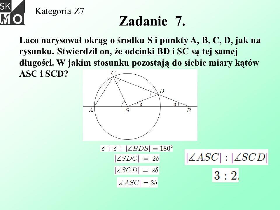 Kategoria Z7 Zadanie 7.