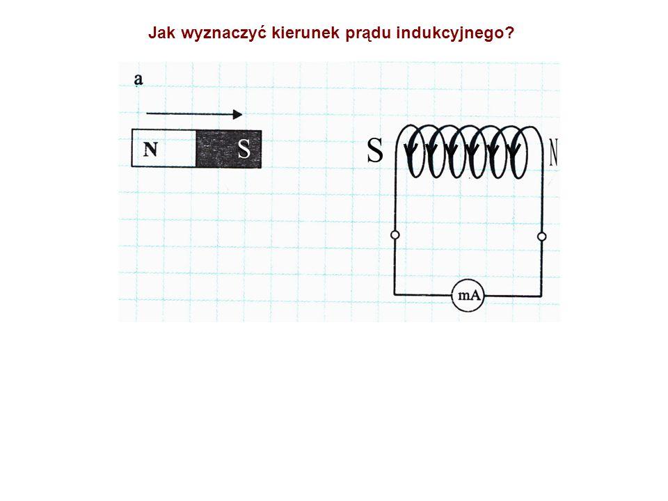 Jak wyznaczyć kierunek prądu indukcyjnego