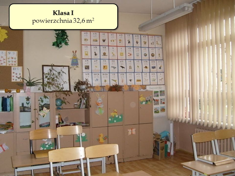 Klasa I powierzchnia 32,6 m2