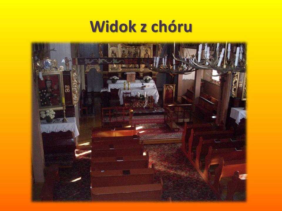 Widok z chóru