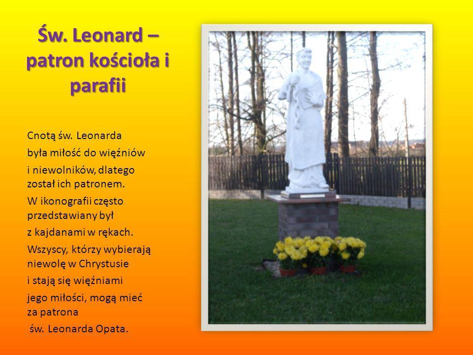 Św. Leonard – patron kościoła i parafii