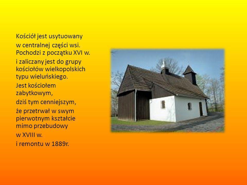 Kościół jest usytuowany