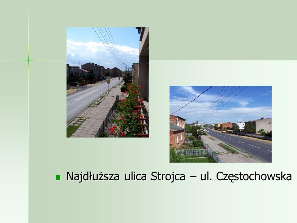 Najdłuższa ulica Strojca – ul. Częstochowska