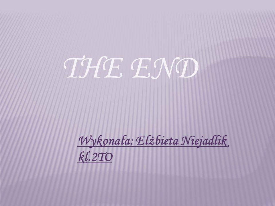 THE END Wykonała: Elżbieta Niejadlik kl.2TO