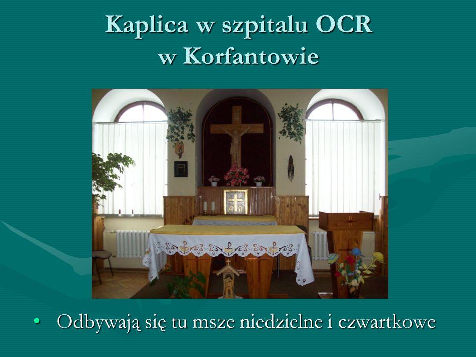 Kaplica w szpitalu OCR w Korfantowie