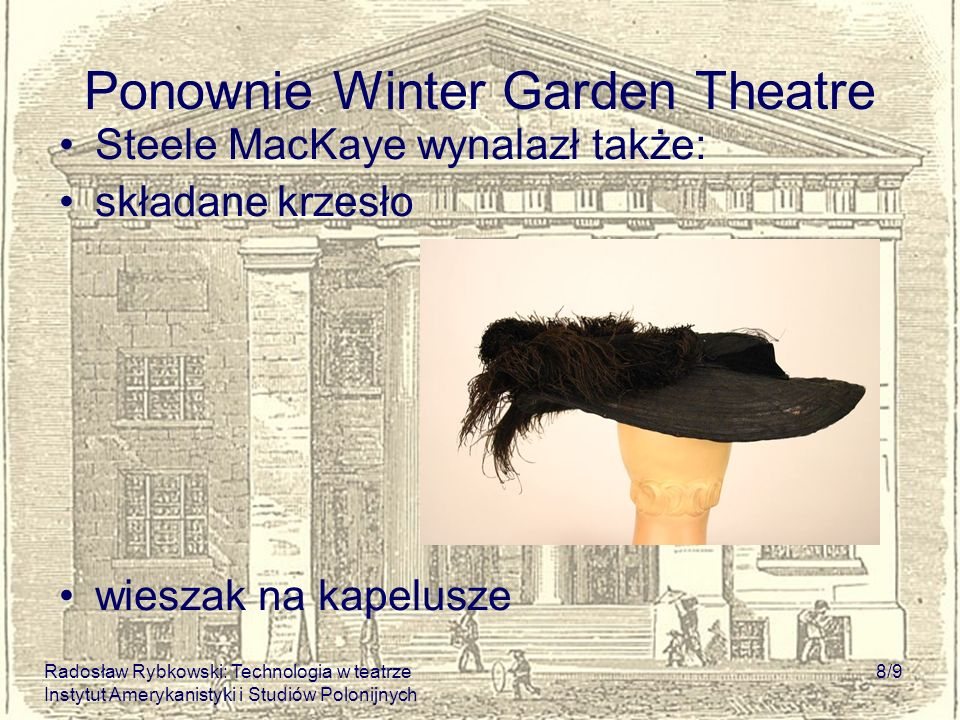 Ponownie Winter Garden Theatre