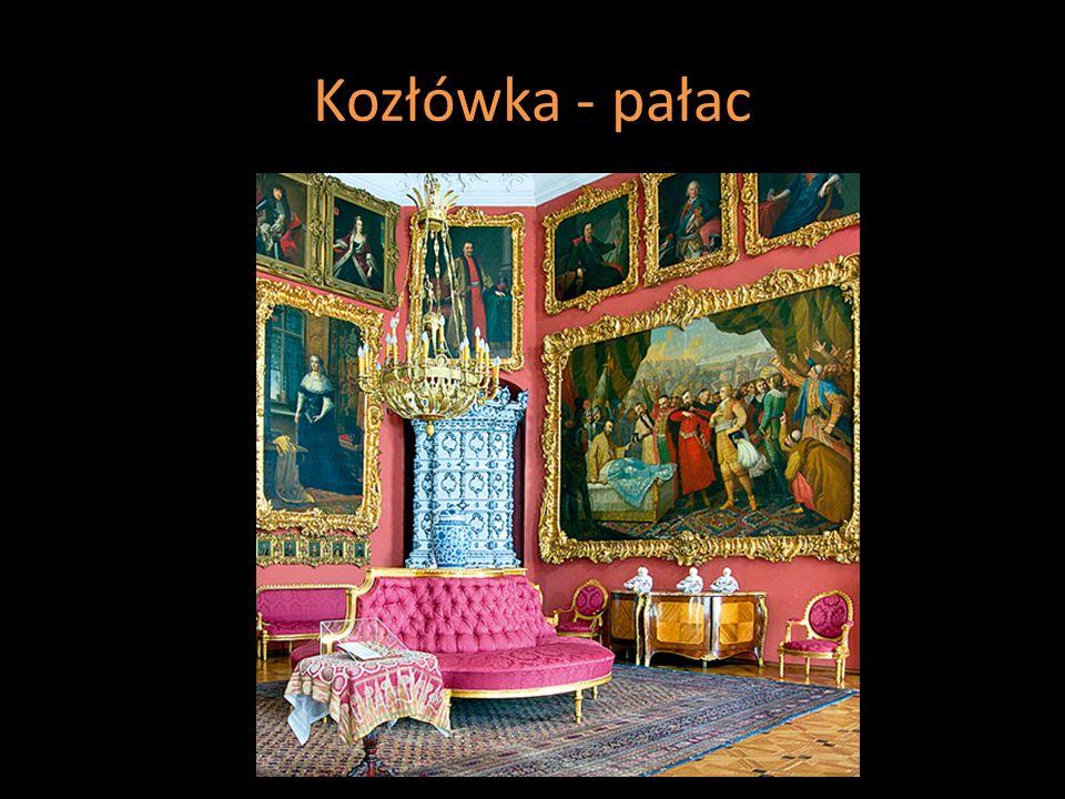 Kozłówka - pałac