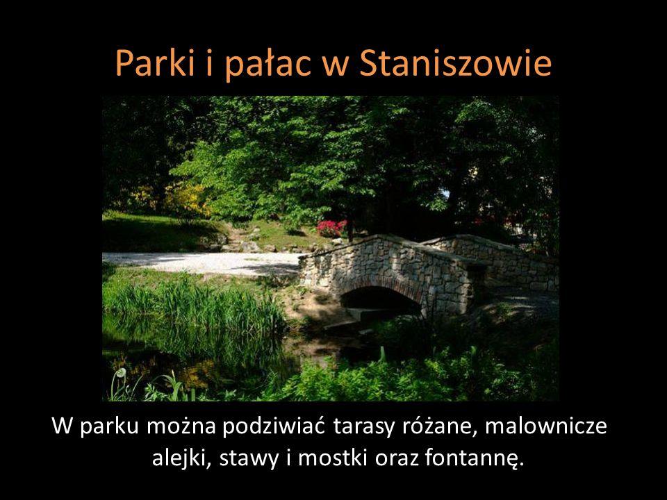 Parki i pałac w Staniszowie