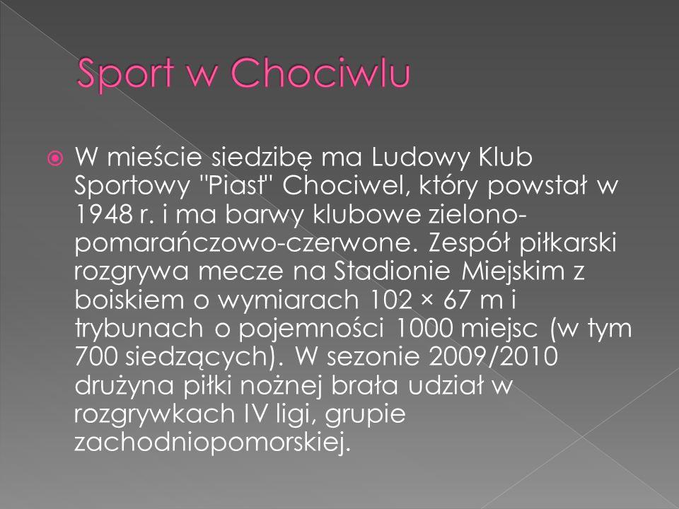 Sport w Chociwlu