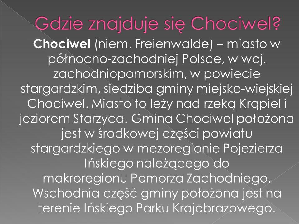 Gdzie znajduje się Chociwel