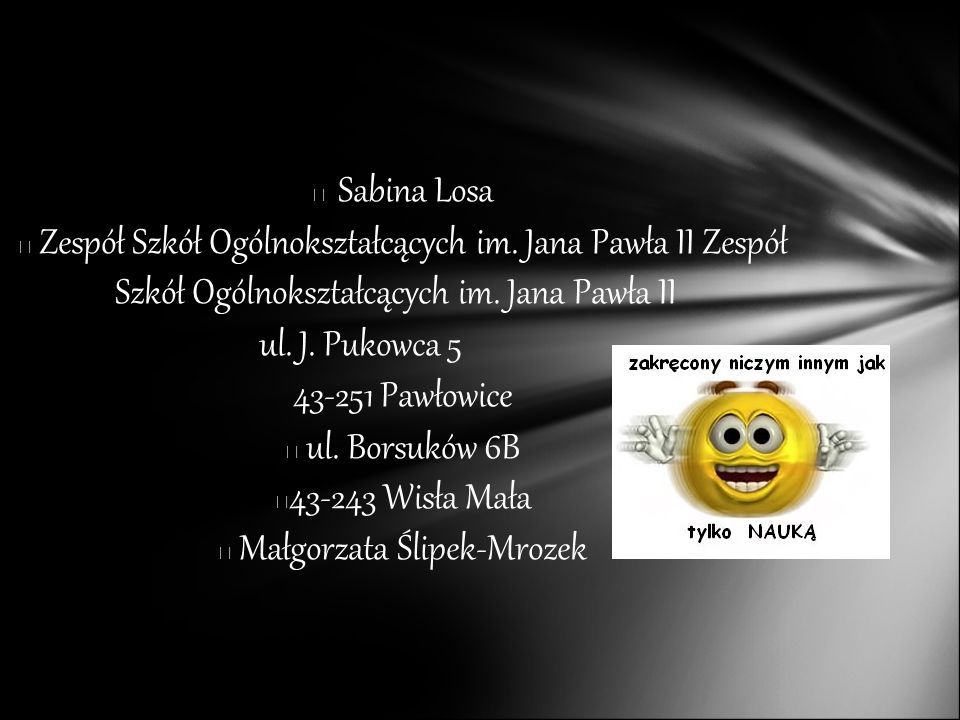 Małgorzata Ślipek-Mrozek