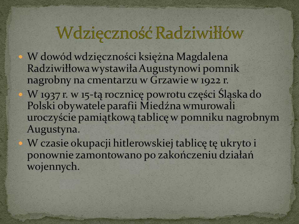 Wdzięczność Radziwiłłów