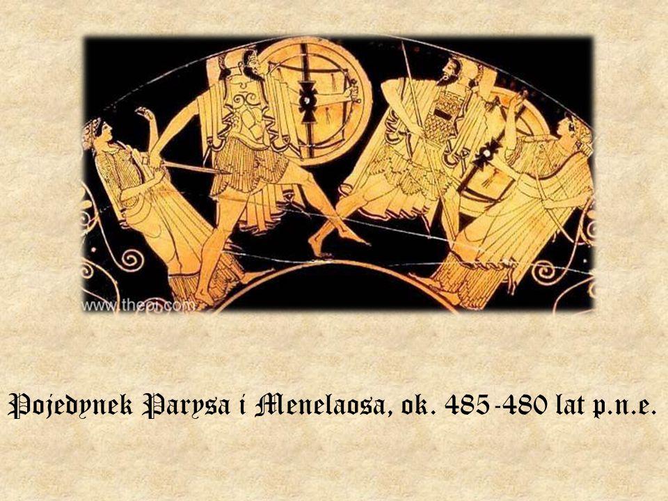 Pojedynek Parysa i Menelaosa, ok. 485-480 lat p.n.e.