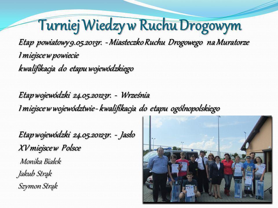 Turniej Wiedzy w Ruchu Drogowym
