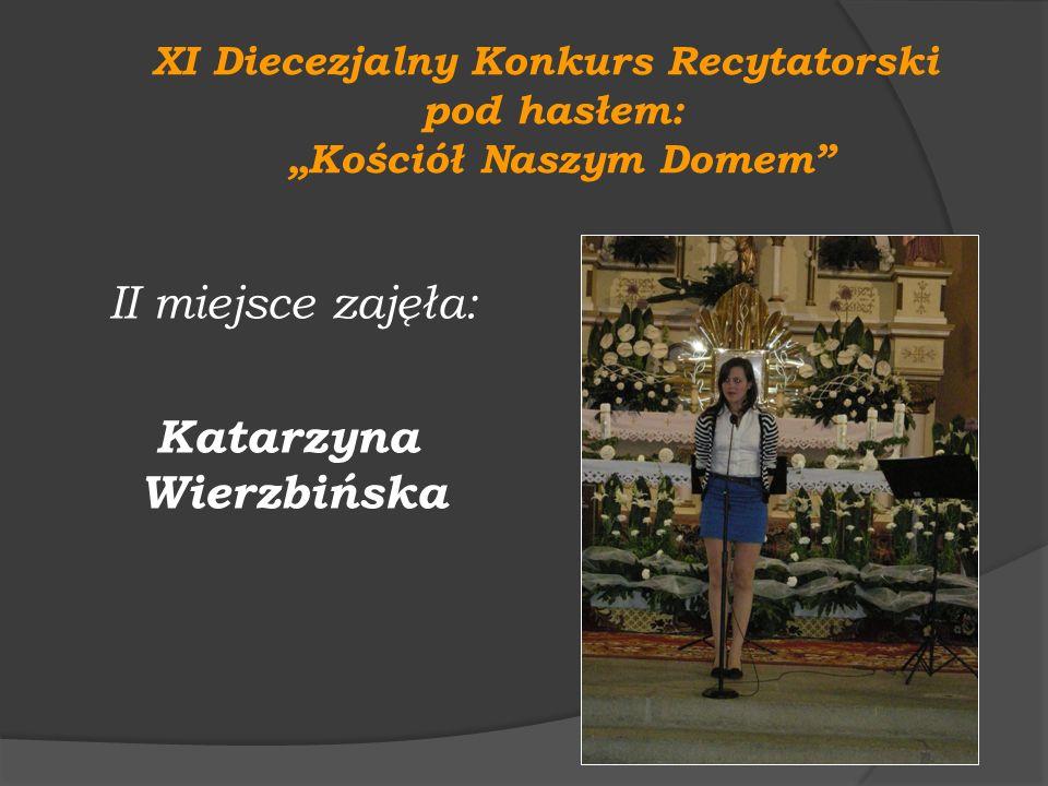 """XI Diecezjalny Konkurs Recytatorski """"Kościół Naszym Domem"""
