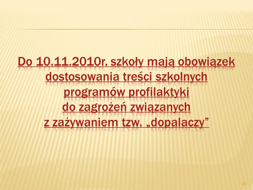 Do 10.11.2010r.