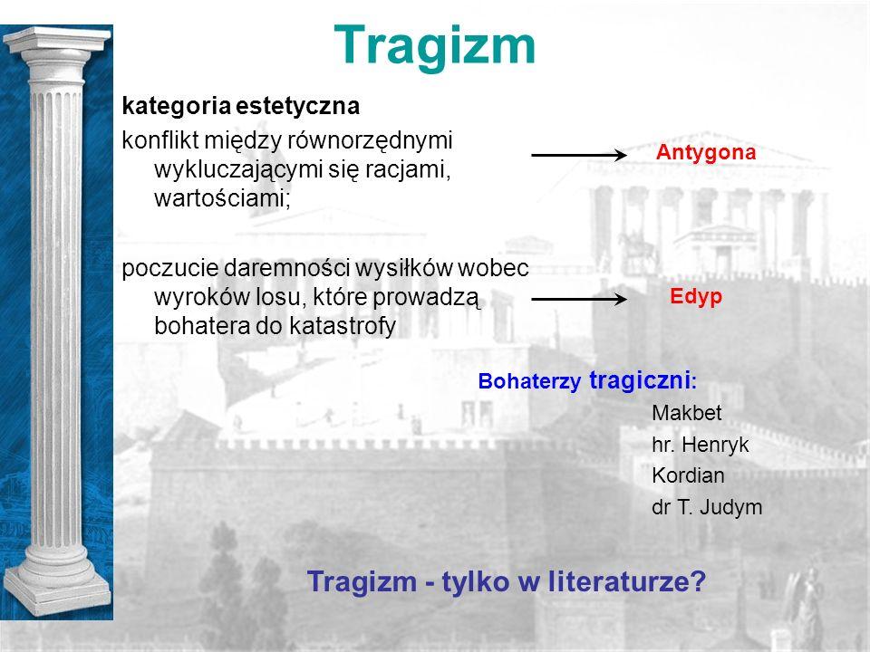 Tragizm - tylko w literaturze