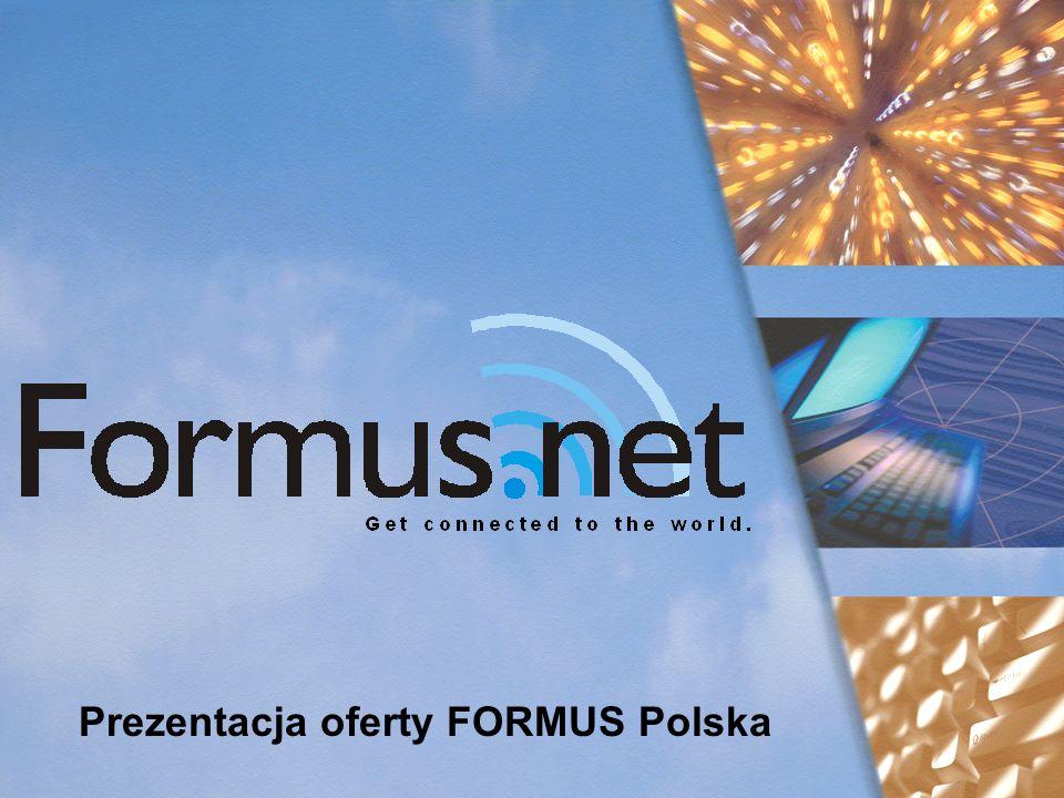 Prezentacja oferty FORMUS Polska