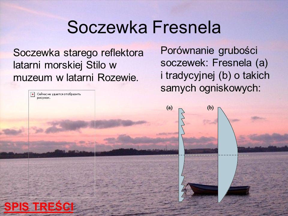 Soczewka Fresnela SPIS TREŚCI