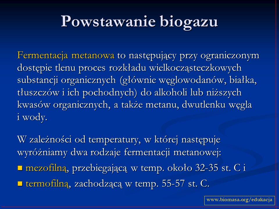 Powstawanie biogazu