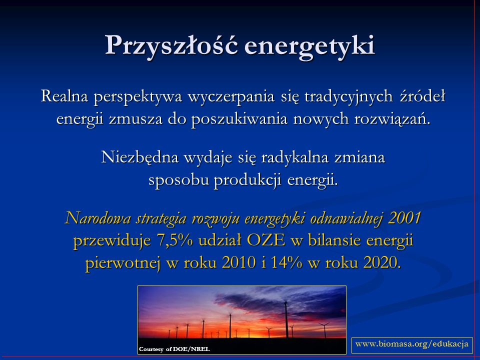 Przyszłość energetyki