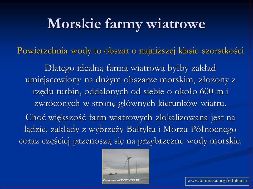 Morskie farmy wiatrowe