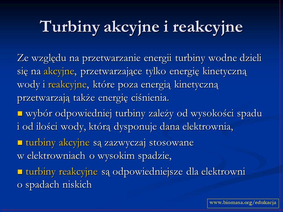 Turbiny akcyjne i reakcyjne