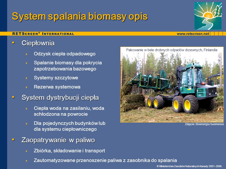 System spalania biomasy opis